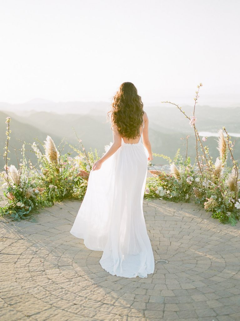Wedding Ceremony at Malibu Rocky Oaks Wedding Venue